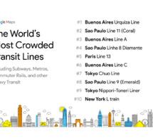 Métros les plus fréquentés au monde, la Ligne 13 de Paris dans le top 5