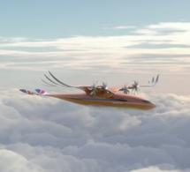 Airbus dévoile un avion « oiseau de proie » hybride