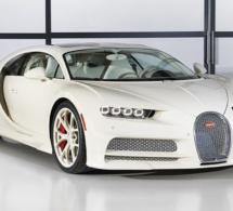 Voici l'unique Bugatti Chiron Hermès