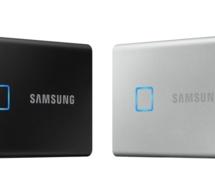 Samsung dévoile un disque dur portable avec lecteur d'empreintes