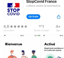 600 000 téléchargements de l'application StopCovid