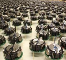 Une parade de 1 000 petits robots