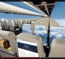 L'avion sans hublots