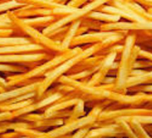La frite, une fois