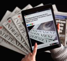 «The Independent», la fin du papier