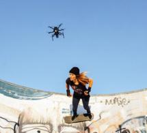 Selfie ? Non, dronie